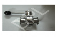 Triclover Butterfly Valve by Dairy Pharma Chem Liners