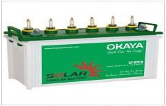 Okaya Solar Batteries 40ah by Anshul Solar Enterprises