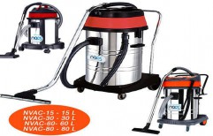 Wet And Dry Vacuum Cleaner by NACS India