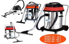 Dry And Wet Vacuum Cleaner by NACS India