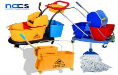 Mop Trolley by NACS India