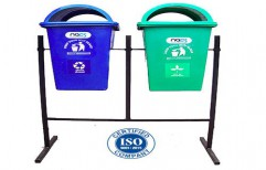 Pole Mounted Dustbin by NACS India