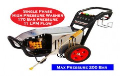 High Pressure Water Jet Cleaning Machine 200 Bar by NACS India