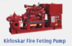 Kirloskar Fire Feting Pump by Ashok Water Pump Repairing Center