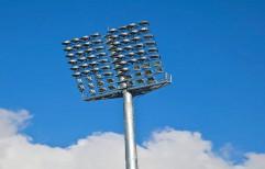 Stadium Floodlight Pole by J. K. Poles & Pipes Co.