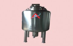 Jacketed Tank With Agitator by Akshar Engineering Works