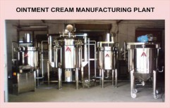 Ointment Cream Manufacturing Plant by Akshar Engineering Works