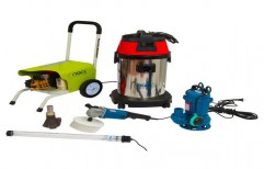 Water Tank Cleaning Kit With 130 Bar High Pressure Washer by NACS India
