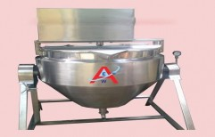 Double Jacketed Paste Kettle by Akshar Engineering Works