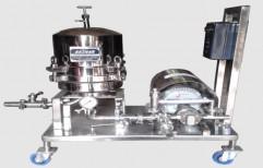 Gear Pump Zero Hold Filter Press by Akshar Engineering Works