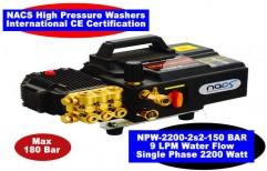 High Pressure Jet Washer 9 lpm 180 Bar by NACS India