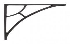 Black Iron Shelf Bracket by J. K. Poles & Pipes Co.