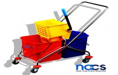 SS Mopping Trolley by NACS India