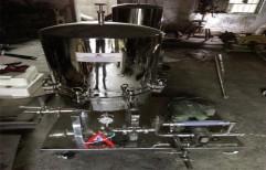 Sunflower Oil Filter Press Machine by Akshar Engineering Works
