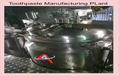 Toothpaste Shampoo Manufacturing Plant by Akshar Engineering Works