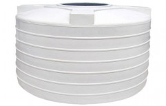 White Plastic Water Tank by Hariom Sanitary
