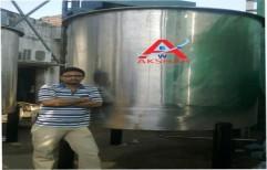 Food Processing Tank by Akshar Engineering Works