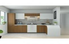 L Shaped Modular Kitchen by Sri Ganesh Enterprises