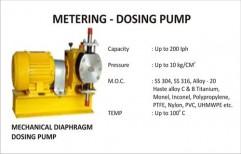 Metering - Dosing Pump by Vir Krupa Engineers