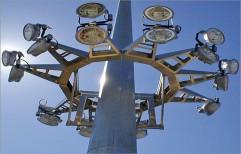 Stadium High Mast Lighting Pole by J. K. Poles & Pipes Co.