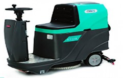 Battery Operated Ride On Scrubber Drier by NACS India