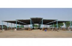 MS Dairy Farm Sheds by Yash Enterprises