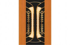 Laminated PVC Door by Deccan Doors