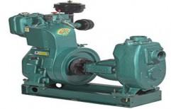Oil Engine Water Pump Set by Rudra Power
