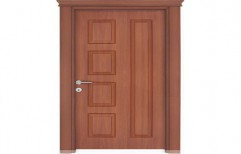 Single Panel Wooden Door by Deccan Doors