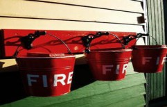 Fire Bucket by United Fire Safety Equipments