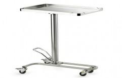 Height Adjustable Mayo Trolley by Goodhealth Inc.