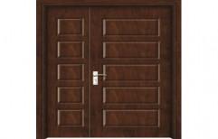 Wooden Double Panel Door by Samruddhi Traders