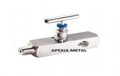 Needle Valve (drain Port) by Apexia Metal