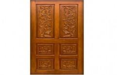 Wooden Membrane Door by Pavan Plywood And Doors