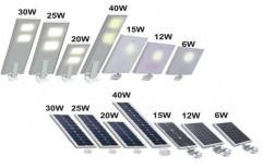 12 Watt All In One Solar Street Light by Abrol Enterprises