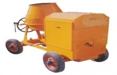 Mobile Concrete Mixture Machine by Shreeji Traders