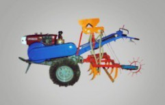 Power Tiller Seeds Drill by Khedut Agro Engineering Private Limited
