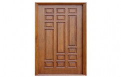 Stylish Wooden Door by Overlay