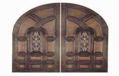 Carved Wood Door by Maharashtra Traders