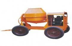 Portable Concrete Mixture Machine by Shreeji Traders