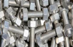 Duplex Steel Fasteners by Apexia Metal
