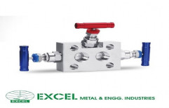3 Way Manifold Valves by Excel Metal & Engg Industries