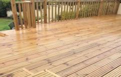 Anti Slip Wooden Decking by Sajj Decor