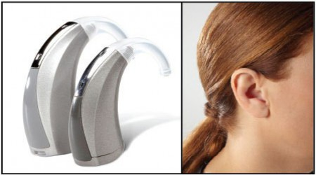 Behind The Ear Hearing Aid by National Hearing Care Centre