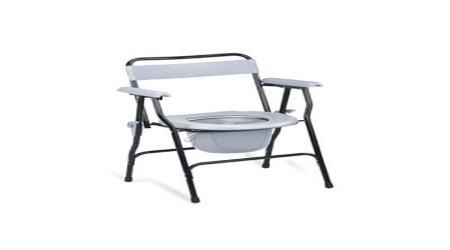 Commode Chair by Chamunda Surgical Agency
