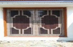 Double Wooden Door by Shiv Shakti Furniture