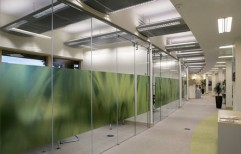 Frameless Glass Partitions by Pro Consultant