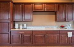 Modular Kitchen Wooden Cabinets by Sunrise Kitchen Decor