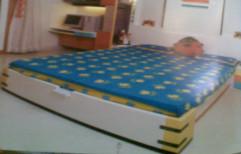 Modular Wooden Bed by Shubham Furniture & Aluminium