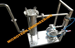 Pneumatic Perfume Filtration Unit by Micro Tech Engineering